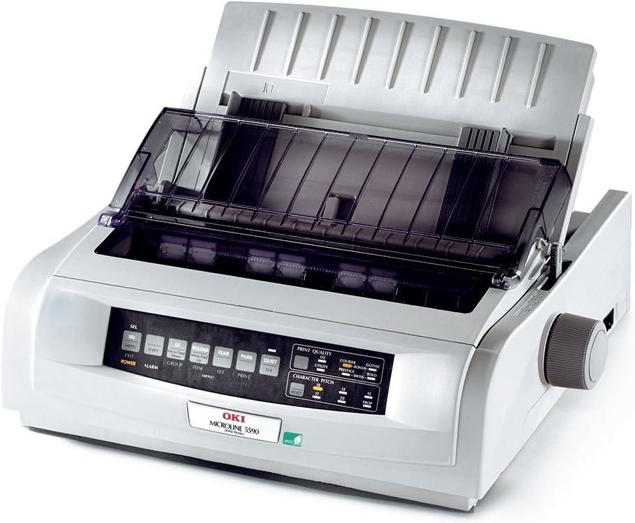 Oki Ml5590eco 24 Pin Nadeldrucker Computer Zubehör