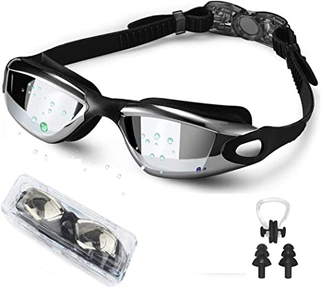 Anti-fog Uv Protected swimming goggles men women adult Summer swimming glasses