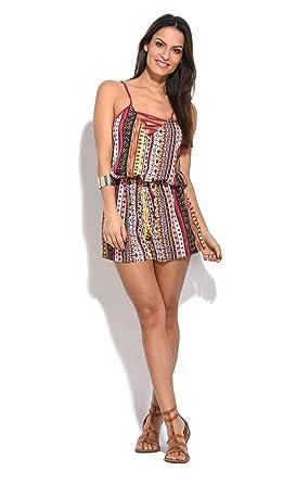 liquidazione a caldo bello e affascinante chiaro e distintivo Baba design Tuta Corta Donna: Amazon.it: Abbigliamento