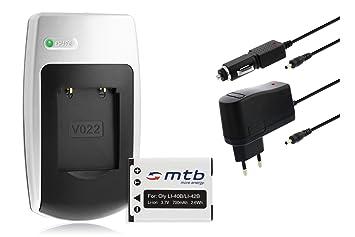 Batería + Cargador NP-45 para FujiFilm FinePix J10, J12, J15 fd, J20, J25, J26, J27...ver lista!