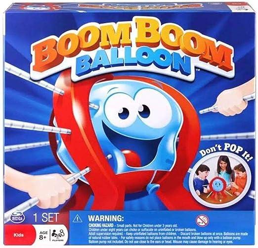 Junecat Regalo de cumpleaños de plástico Tabla Boom Balloon Juego de Mesa de Juego para niños Niños Niños Juguete de la Familia de Juguete de Regalo de la diversión: Amazon.es: Hogar