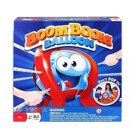 Junecat Regalo de cumpleaños de plástico Tabla Boom Balloon Juego ...