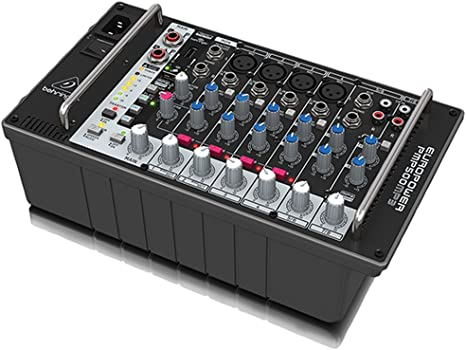 Behringer PMP500MP3 - Mesa de mezclas autoamplificada: Amazon.es: Instrumentos musicales