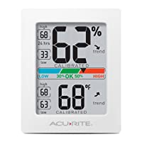 Deals on AcuRite 01083 Indoor Thermometer & Hygrometer