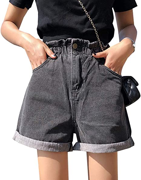 White Shorts With Pull String Belt Ladies Select Denim Summer Shorts
