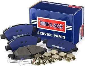 Borg /& Beck BBP2569 Front Brake Pads