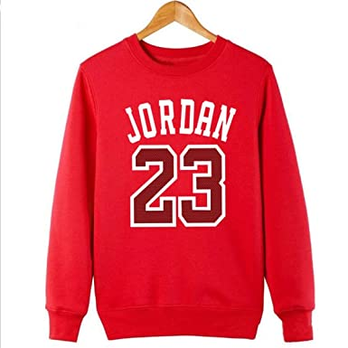 Jordan 23 Men Sportswear Mens Women Pullover Hip Hop Mens Tracksuit Sweatshirts at Amazon Mens Clothing store: