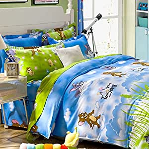 Tom And Jerry Queen Bedding