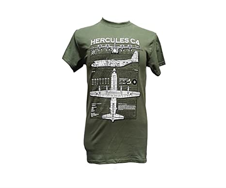 The wooden model company ltd lockheed c 130 hercules aircraft lockheed c 130 hercules aircraft military t shirt with blueprint design s malvernweather Images