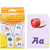 Alphabet Flash Cards - Ages 3 and Up, Preschool, Letter-Picture Recognition, Word-Picture Recognition, Alphabet, and More Cards for Girls and Boys …