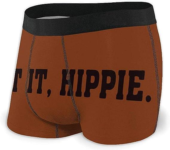 Nancyint Beat It Hippie Boxer Briefs Ropa Interior de algodón ...