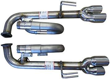 994188SL Axle Back Exhaust Kit for V8 G8 Cars by Solo Performance  Compatible with Pontiac G8