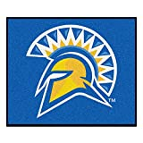 FANMATS 3206 San Jose State Tailgater Rug , Team Color, 59.5''x71''
