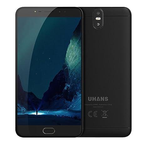 UHANS MAX 2 4G LTE teléfono móvil táctil 6.44 pulgadas 1920 x 1080 píxeles MT6750T Octa
