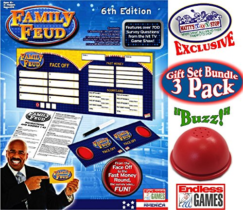 Endless Games Family Feud 6th Edition Set Bundle Includes