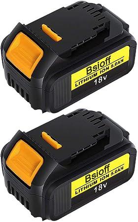 Lot de 2 batteries pour DEWALT DC925KB 18V 3000mAh Sté Française