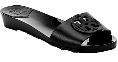 e5429591f62c3 Tory Burch Miller 30MM Slide Sandals Shoes (6) Black