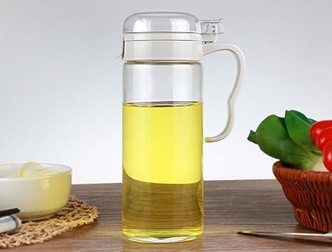 HCJTLP FJXLZ® High Vidrio de Borosilicato Lecythus Cocina Suministros Set Spice Jar Pequeño y Ligero