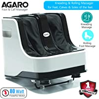 Agaro Relaxing Foot and Calf Massager for Pain Relief with kneading and Rolling functions