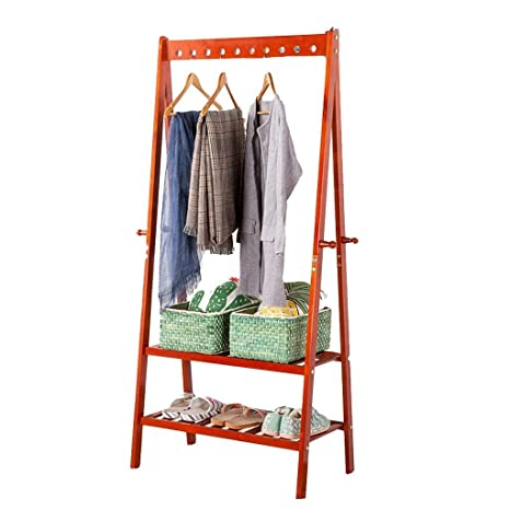 NAOYG COAT RACK Perchero de pie con Almacenamiento, Perchero ...