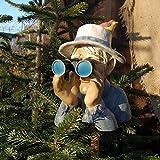 Figurine Déco Jardin décoration de jardin civière voyeur décoration drôle