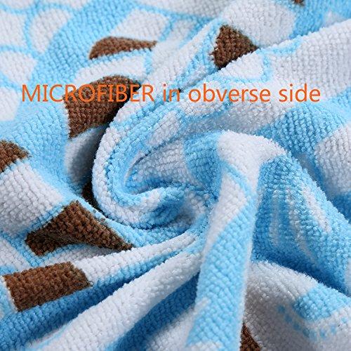Shengchun Round Beach Towel Cotton Microfiber Blend Mandala Extra