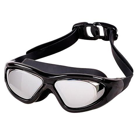 LE Occhiali da vista Big Box HD Occhiali da vista da donna Impermeabili Occhiali da nuoto,B