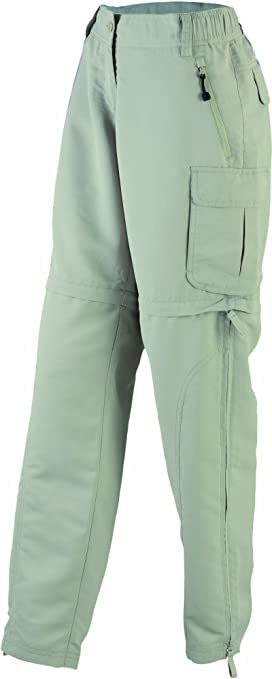 TALLA XXL. James & Nicholson Ladies' Zip-Off Pantalones premamá, Mujer