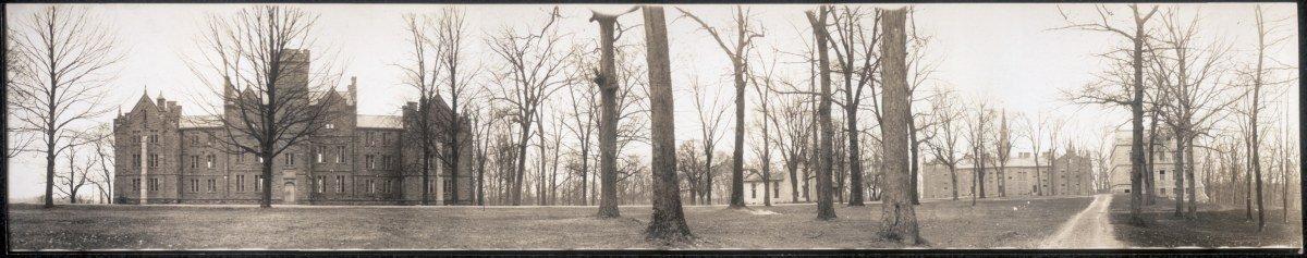 c1910 Kenyon College 42'' Vintage Panorama photo