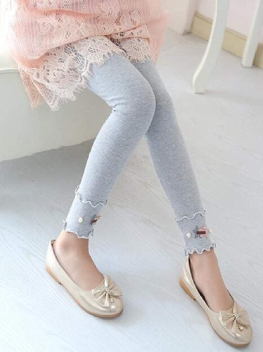 Lutratocro Girl Kids Cute Fashion Cotton Slim Fit Pants Legging