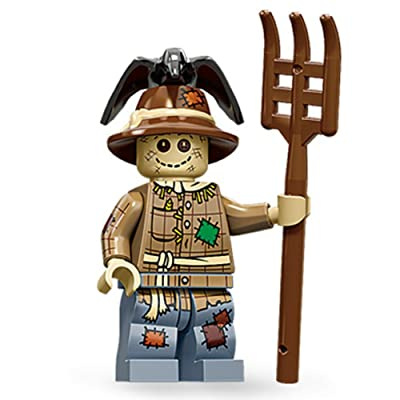 LEGO Minifigures Series 11 Scarecrow Mini Figure: Toys & Games