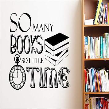 Arte decoración para el hogar tan muchos libros tan poco tiempo ...