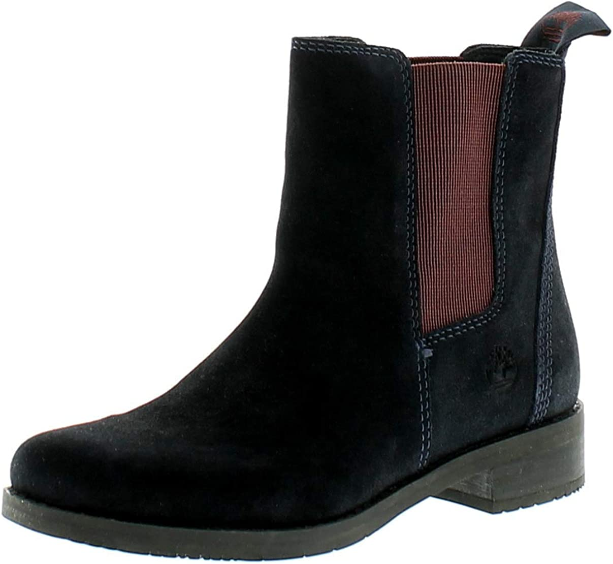 Acostumbrar esta ahí Agresivo  Timberland Venice Prk Chel Womens Leather Material Ankle Boots Navy Suede -  9.5 UK: Amazon.co.uk: Shoes & Bags