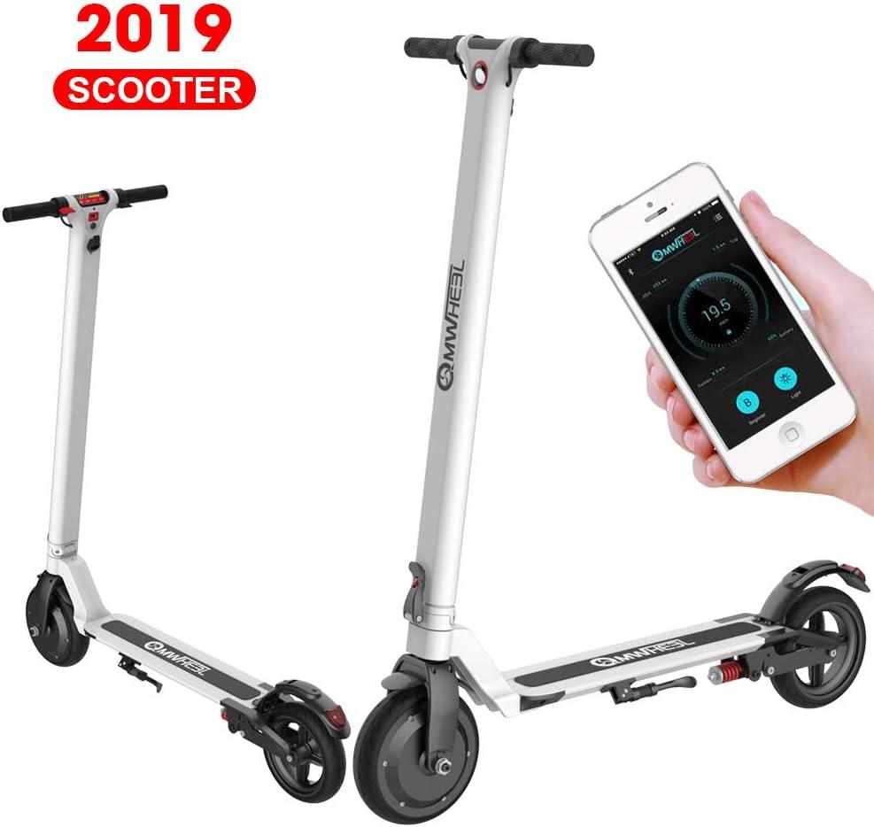 Trottinette /Électrique adulte//Endurance 20~30km//25KPH//Pliable//Ultralight//Scooter /électrique pour adultes et adolescents// Facile /à replier et /à transporter Garantie de la version UE