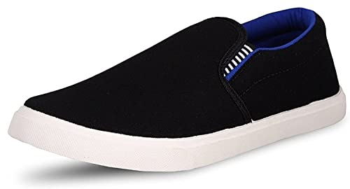 7c537878514 Ethics Men s Pilot Blue Black Casual Loafer Shoes  Buy Online at Low ...