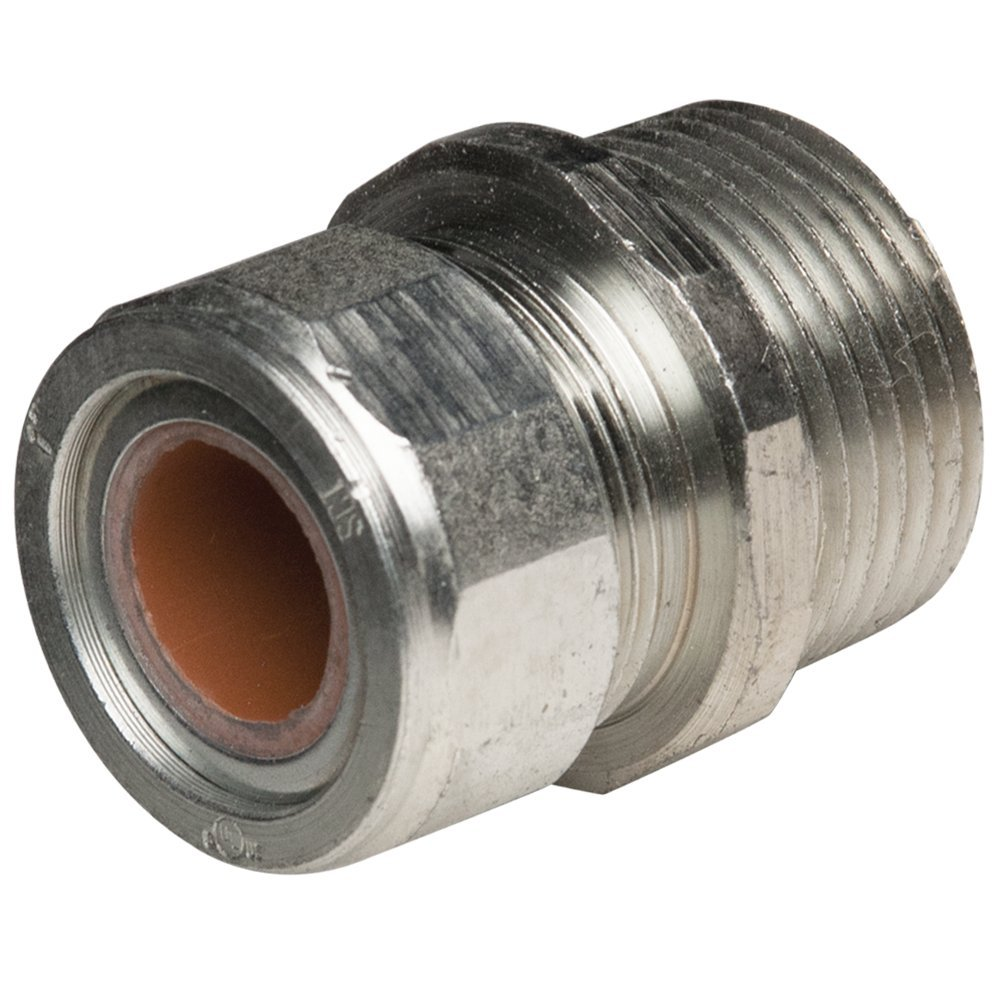 0.55-0.65 Brown, Hubbell-Raco 3724-1 Hubbell-Raco Cord Grip Connector 1-Inch Pack of 25