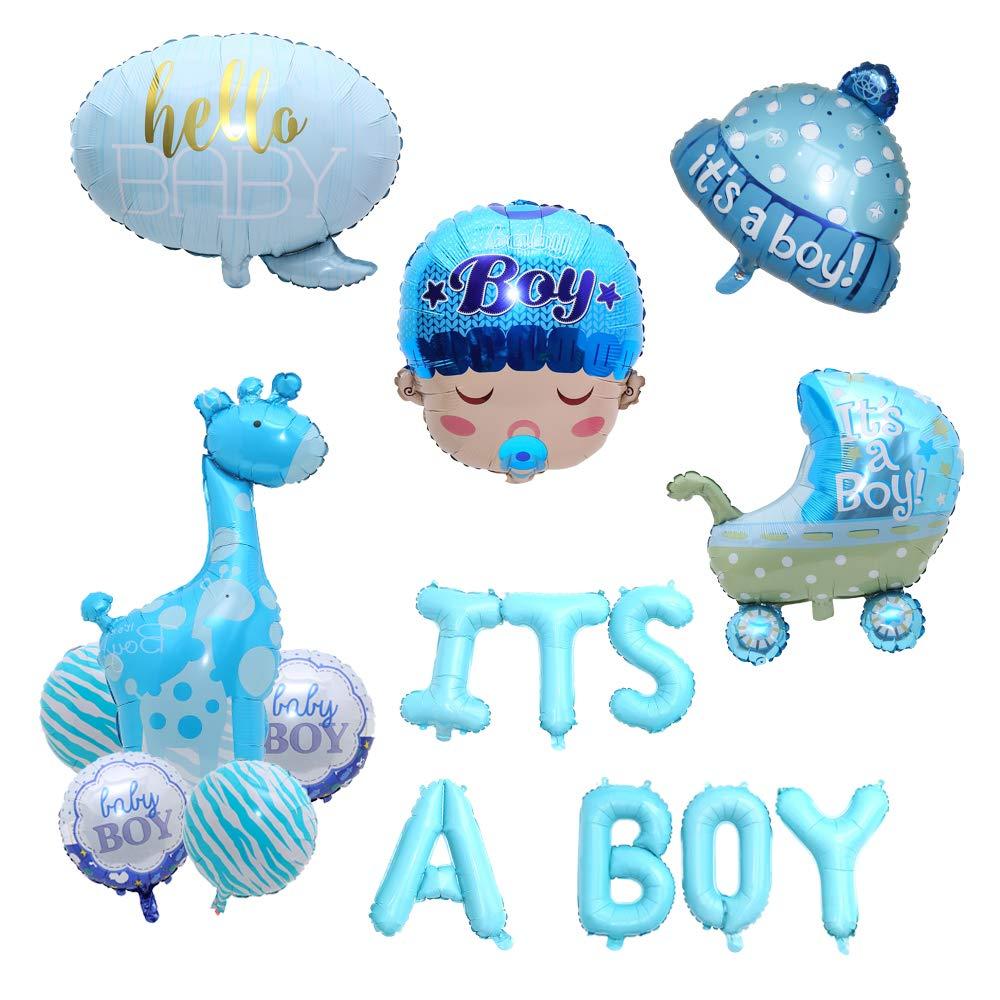【信頼】 Balloon BP006 アルミ製 Party Balloon 「It's a Boy」ヘリウムバルーン 17個セット アルミ製 ベビーショーパーティー クリスマス&新年&結婚デロケーション BP006 B07L8929HR, 鴬沢町:ccd81d14 --- fenixevent.ee