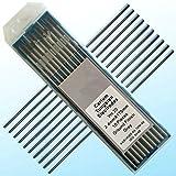 10 pcs 3/32″ 7″(2.4175mm) Gray WC20,2% Ceriated Tungsten Welding TIG Electrode (ETA:7-12 WORK DAYS)