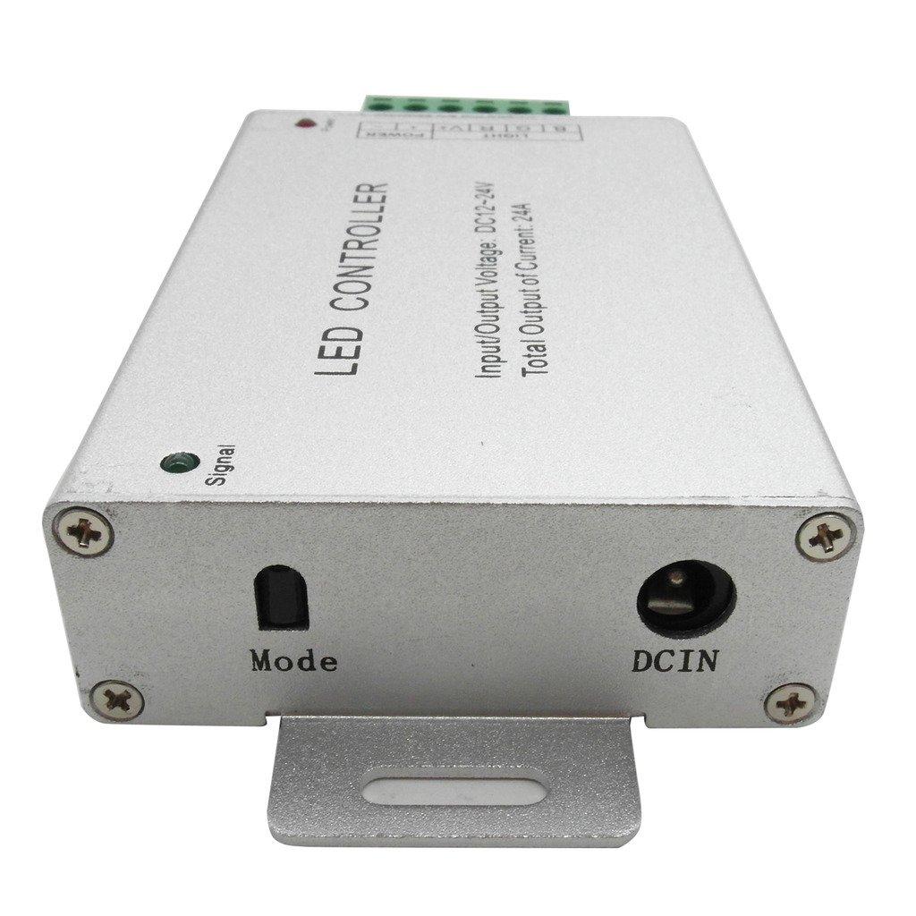 2Ax3 Output DC12V Mini IR RGB Remote Control Controller SMD 5050 LED Fairy Light Strip TRENDBOX 44 Key 6A