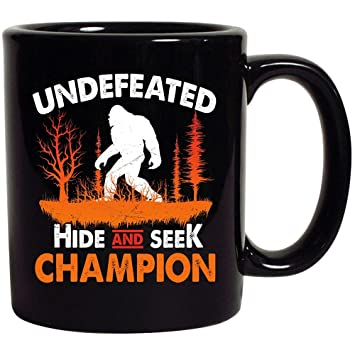 25d4850f Image Unavailable. Image not available for. Color: Bigfoot Undefeated Hide  And Seek Champion Sasquatch ...