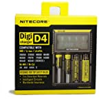 NITECORE 全自動デジタル/マルチ充電器 (D4)