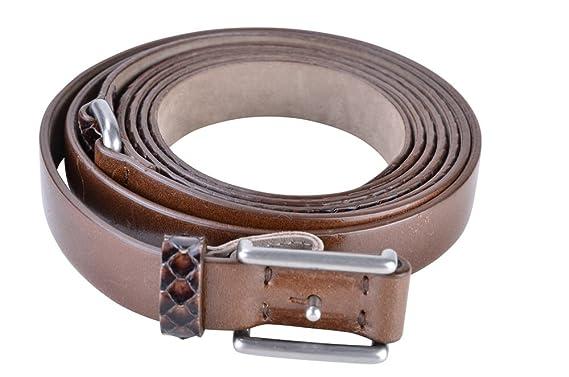 Brunello Cucinelli Gürtel Damen Braun Schlangenleder L  Amazon.de ... 743f645485