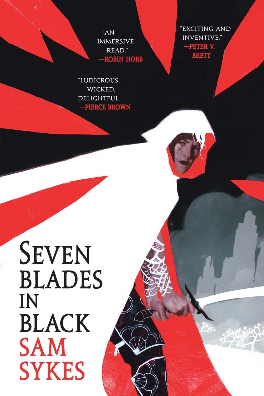 Image result for seven blades in black