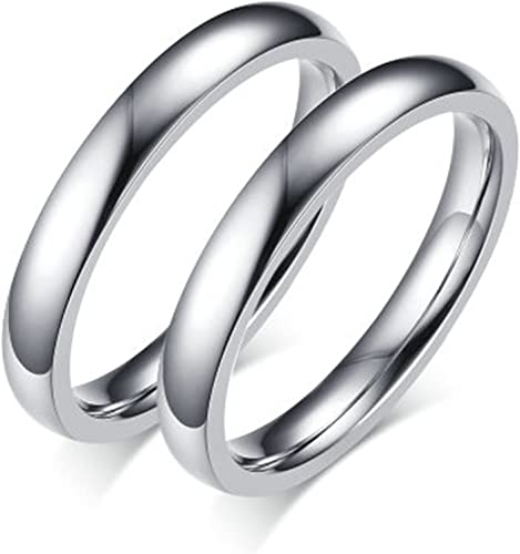 Bishilin Silver Plated Celtic Knot Eternity Band Ring Engagement Wedding Band Size 7