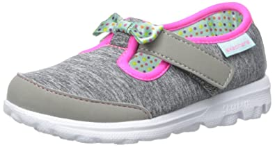 716eef0585b2 Skechers Kids Go Walk Bitty Bow Sneaker (Toddler Little Kid)