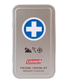 Coleman Personal Survival First Aid estaño (74 piezas), Metálico