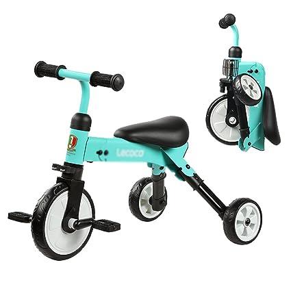 Triciclo para niños Bicicleta para Niños Triciclos de Ciclismo Bicicletas para Bebés y Niños Pequeños No