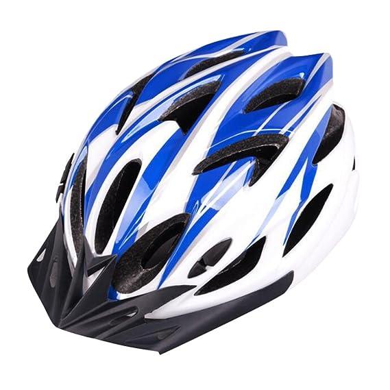 Dooxii Adulto Hombres Mujeres Seguridad Bicicleta de Montaña Casco de Ciclismo Ligero Ajustable MTB Multiuso Cascos 54-62cm: Amazon.es: Ropa y accesorios