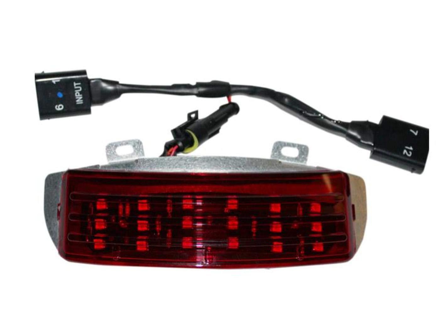 Smoked Housing//Amber LED Truwrapz for 41MM Forks Custom Dynamics TW41AS 360 Light