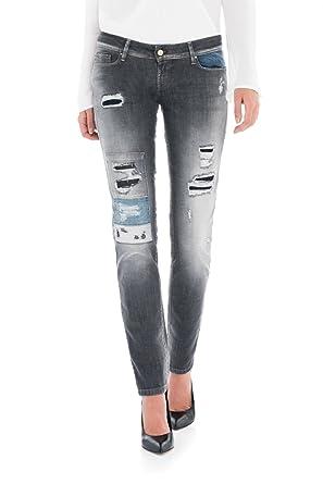 097afa1ca391 Salsa Push up Shape up Slim Jeans with Premium wash  Amazon.co.uk  Clothing